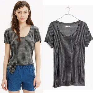 Madewell Anthem Short-Sleeve Scoop Tee